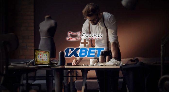 1XBet e Espresso Games Entram em Acordo de Conteúdo
