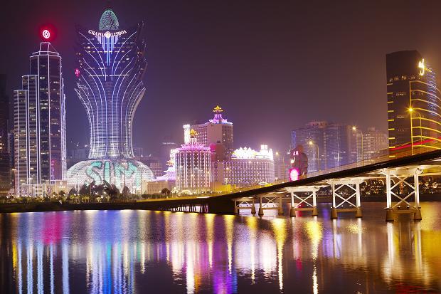 Com ajuda do jogo, PIB de Macau cresce no ano passado