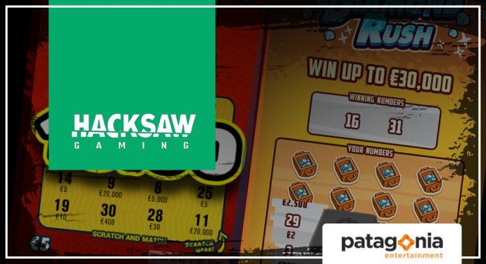 Hacksaw Gaming Fornecerá Vasto Portfólio de Raspadinhas à Patagonia Entertainment