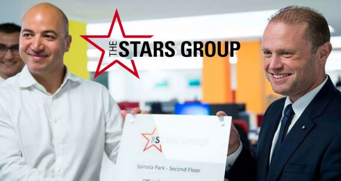 Receita e Lucro da The Stars Group Crescem Substancialmente