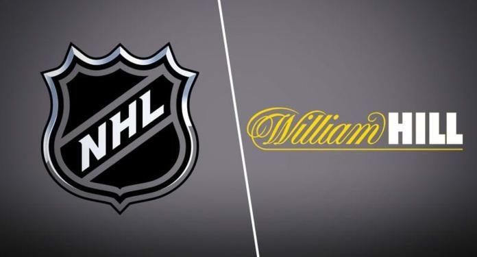William Hill Será a Parceira Oficial de Apostas Esportivas da NHL