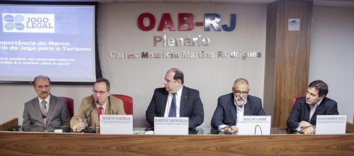 Palestrantes da OABRJ Apoiam os Cassinos no Brasil 'É Hora de Acabar com a Hipocrisia'