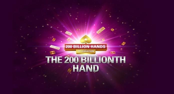 PokerStars Chega a Incrível Marca de 200 Bilhões de Mãos
