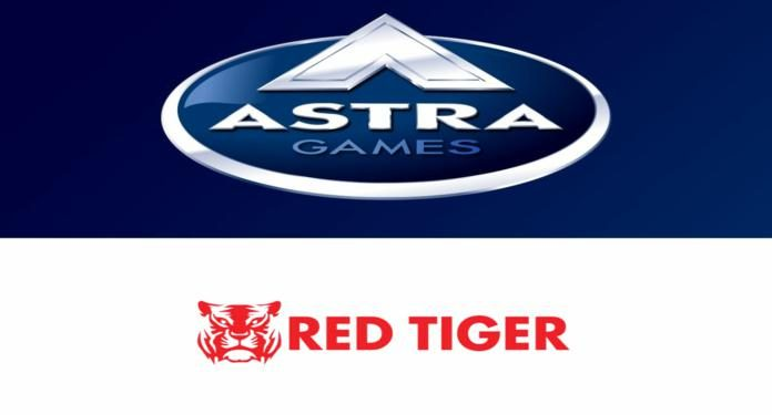 Red Tiger Conecta-se à Astra Games e Bell Fruit