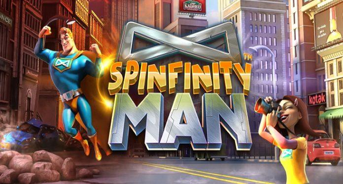 Betsoft Gaming Lança o Divertido Spinfinity Man