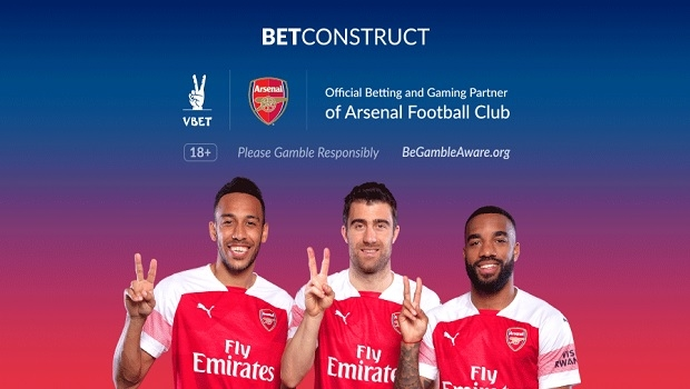 VBET se Torna Parceira Oficial do Arsenal