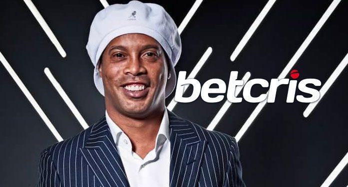 Betcris Lança Ronaldinho como Embaixador da Casa de Apostas