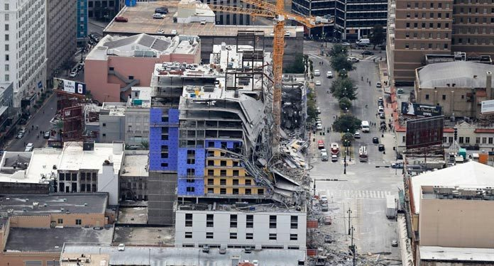 Edifício-onde-será-o-Hard-Rock-em-New-Orleans-Desaba