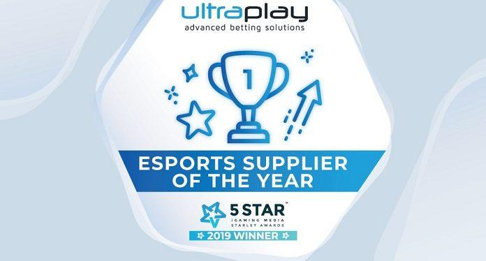 UltraPlay Vence o Fornecedor de eSports do Ano no Starlet Awards