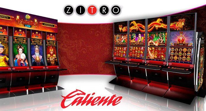 Casino Caliente Apresenta Novas Atrações da Zitro