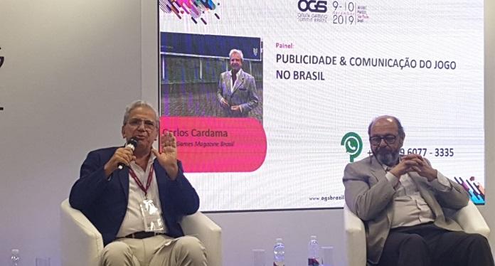 Carlos Cardama em sua Palestra na OGS Clama Precisamos Brigar para Legalizar Tudo!