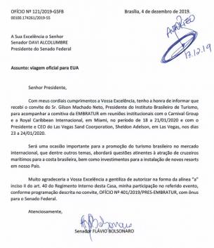 Flávio-Bolsonaro-vai-a-Las-Vegas-conversar-com-Magnata-dos-Cassinos