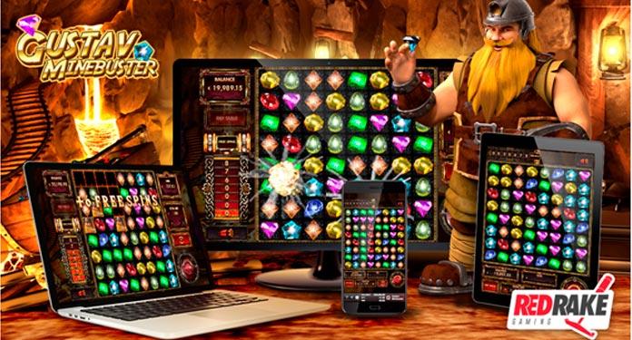Vitórias-Explosivas-no-Novo-Caça-níquel-da-Red-Rake-Gaming-Gustav-Minebuster