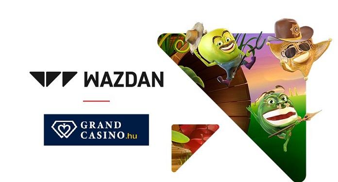 Wazdan Vira Parceiro do Grand Casino, Único Cassino Online da Hungria