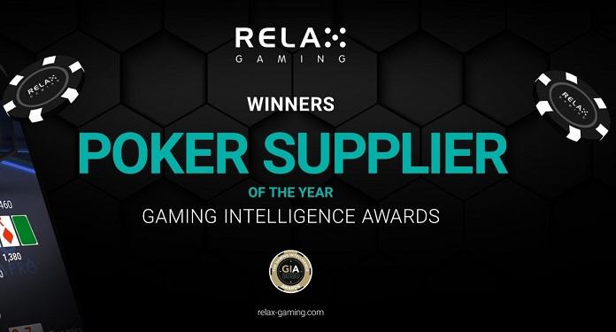 Gaming Intelligence Awards Relax Gaming é Eleita Fornecedora de Poker