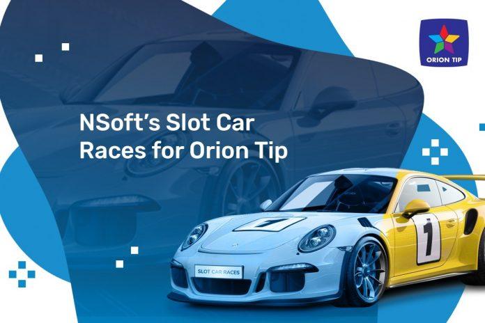 Jogo de Corridas da NSoft, Slot Car é lançado no Operador Orion Tip