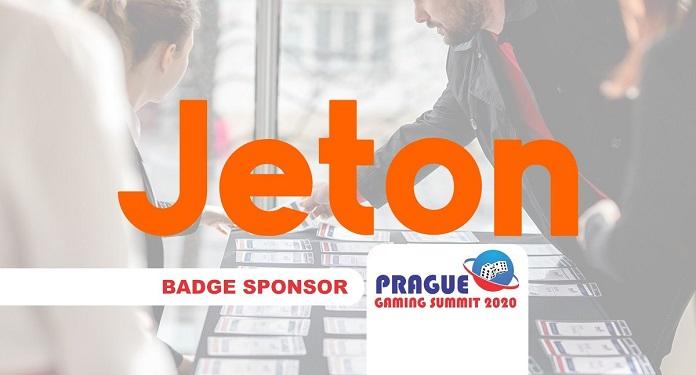 Prague Gaming Summit 2020 Divulga Perfil do patrocinador Jeton