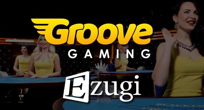 GrooveGaming Anuncia Mais Conteúdo Ao Vivo em Parceria com Ezugi