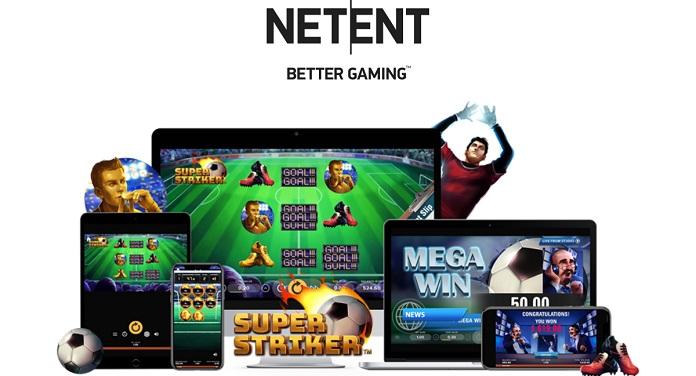 NetEnt Lança o Super Striker Com Temática Voltada ao Futebol