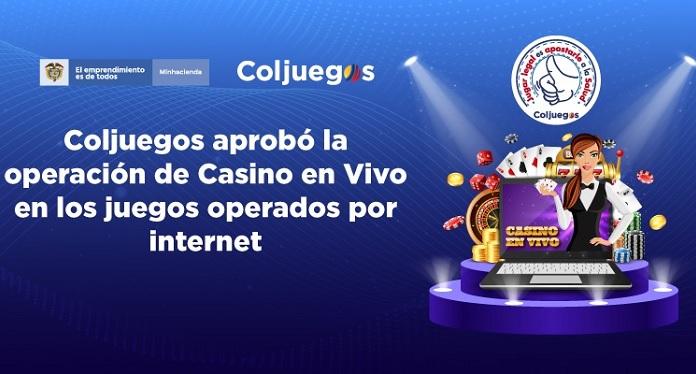 Coljuegos Regulamentou Jogo Ao Vivo para Cassinos Online na Colômbia