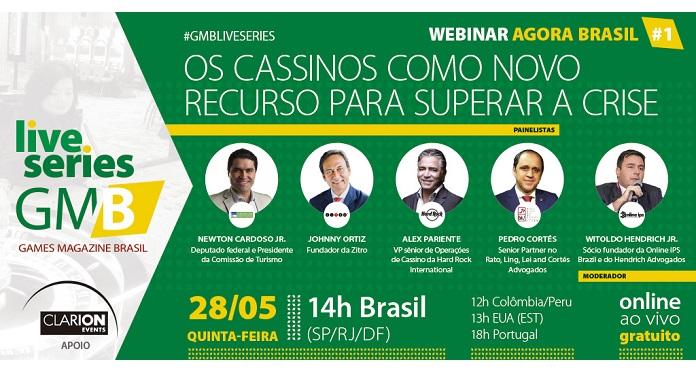 Com apoio da Clarion, GMB Promove Webinar Sobre Cassinos no Brasil
