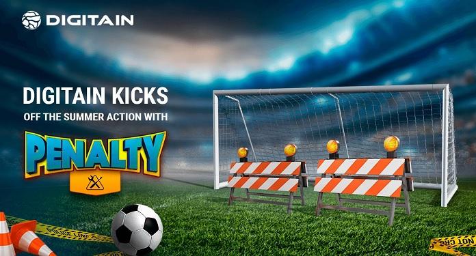 Digitain lança Penalty, um Jogo de Habilidade Com Temática de Futebol