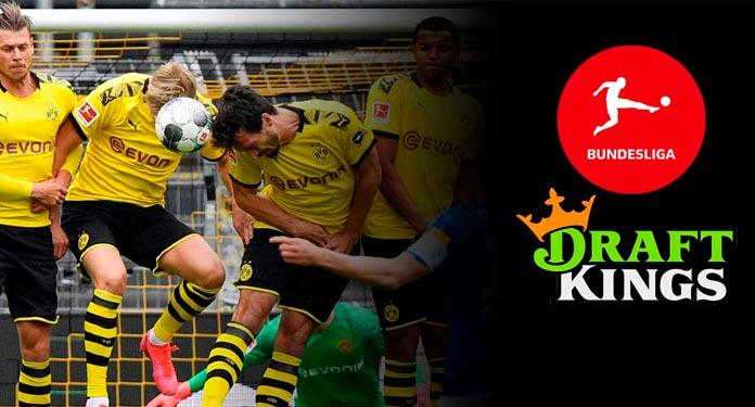 DraftKings-Terá-os-Direitos-de-Transmissão-para-Apostas-da-Bundesliga-nos-EUA