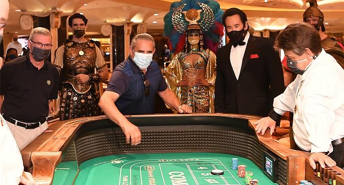 Caesars Oferece US$ 20 Para Que Clientes Usem Máscaras de Proteção