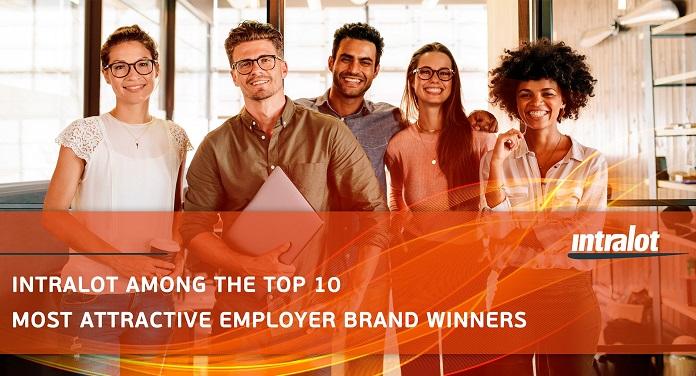Intralot Entre as 10 Marcas de Empregadores Mais Atrativas na Grécia