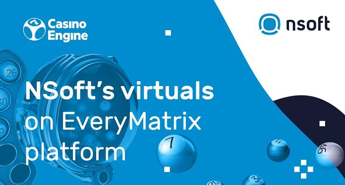 Títulos Virtuais da NSoft Já Estão na Plataforma EveryMatrix