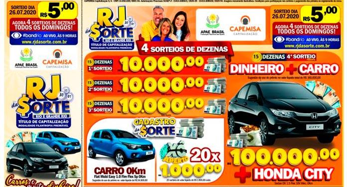 'RJ-da-Sorte'-vai-Sortear-Carro-0km-e-R$-100-Mil-em-Dinheiro-no-Prêmio-Principal