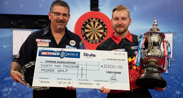 Betfred Doará £ 32 Mil a Stroke Association Após Recorde no World Matchplay