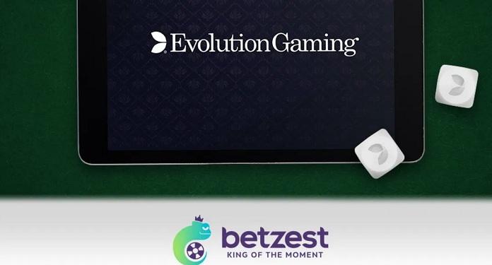 Cassino Online, Betzest Faz Parceria com o Provedor Evolution Gaming