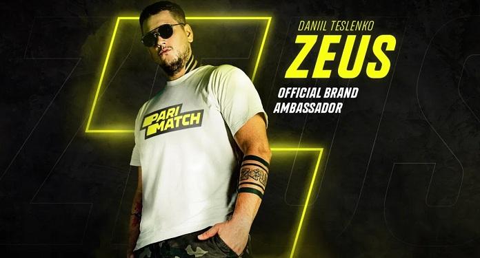 """Daniil """"Zeus"""" Teslenko Se Torna o 1º Embaixador de eSports da Parimatch"""