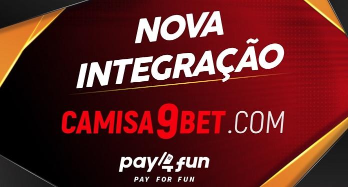 Pay4Fun Anuncia Parceria e Nova Integração com a Camisa9Bet