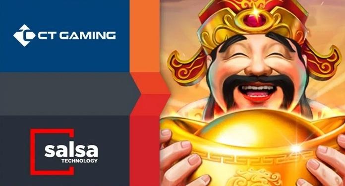 Salsa Technology Fecha Acordo por Conteúdo com CT Gaming Interactive