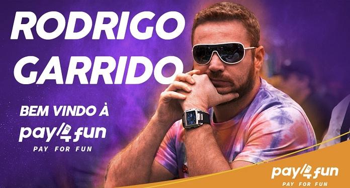 Campeão no Poker, Rodrigo Garrido é o Novo Representante da Pay4Fun