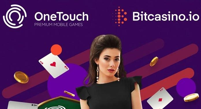 OneTouch Anuncia Novo Acordo com o Bitcasino