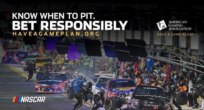 NASCAR se Une à AGA para 'Educar' os Fãs sobre Apostas Responsáveis