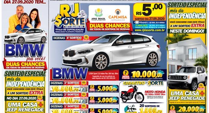 RJ-DA-SORTE-Vai-Sortear-Casa,-Jeep-Renegade-e-uma-BMW-no-Domingo