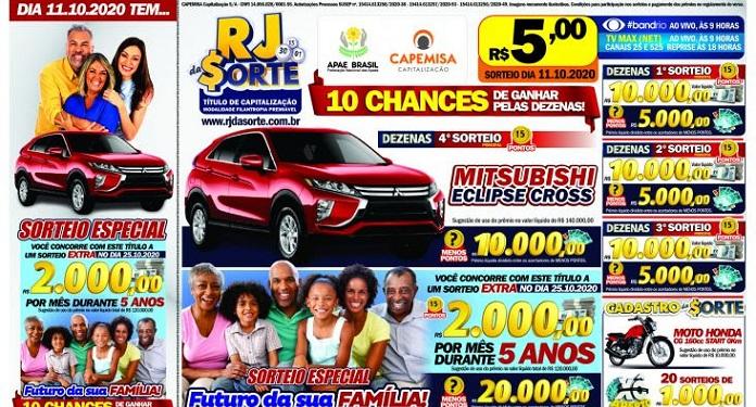 Cariocas Terão Chance de Faturar R$ 2 Mil por Mês por 5 Anos com RJ da Sorte