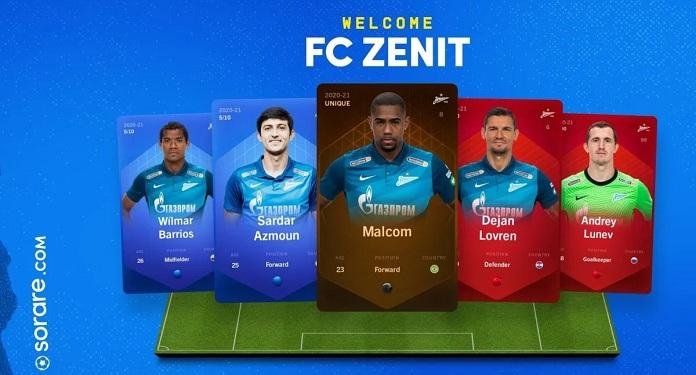 Clube Russo, Zenit Se Junta ao Jogo de Futebol de Fantasia da Sorare