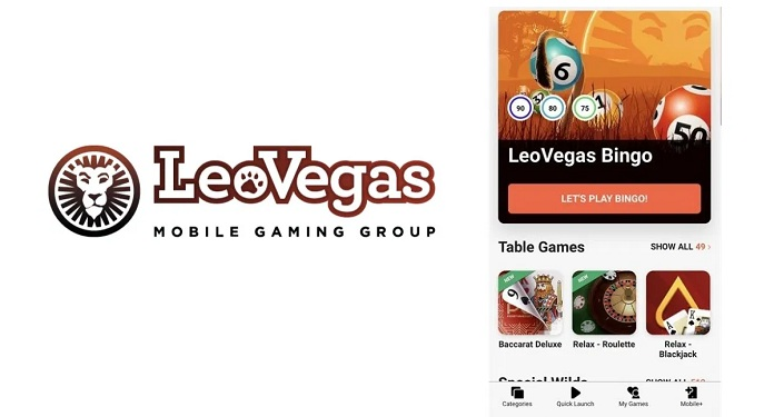 LeoVegas Lança Bingo como a sua Nova Categoria