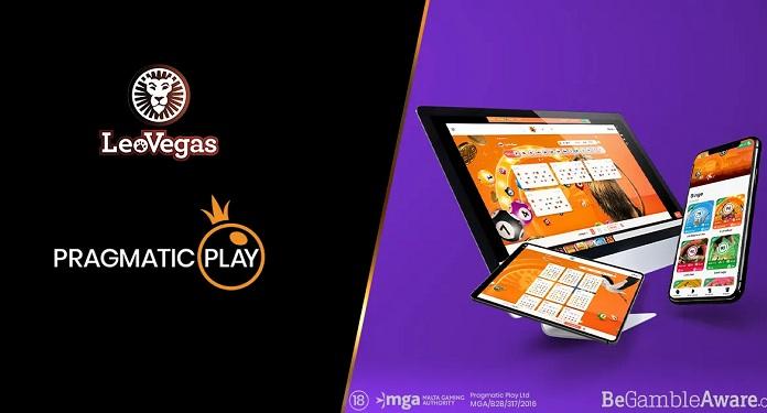 Pragmatic Play Integrou Sua Oferta de Bingo ao Vivo a LeoVegas