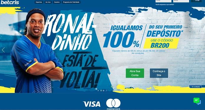 Betcris apresenta novo site para o mercado brasileiro