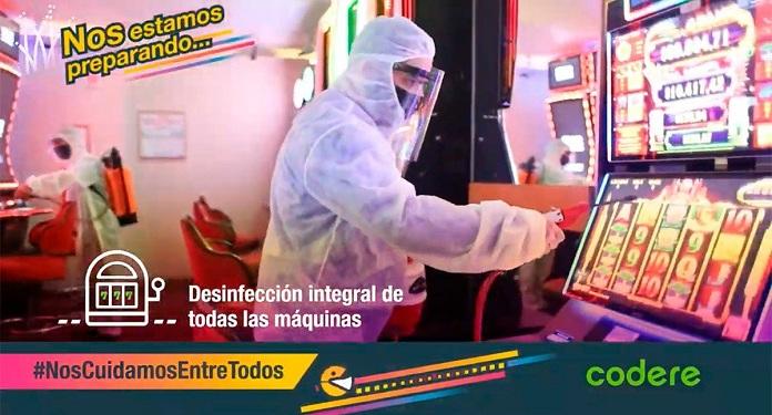 Codere Lança Vídeo Mostrando Preparação para Reabertura na Argentina