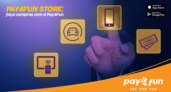 Pay4Fun apresenta a sua própria loja virtual para mercado nacional