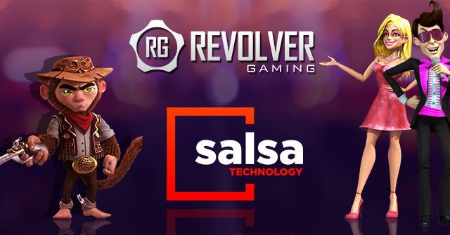 Revolver Gaming e Salsa Technology anunciam parceria de integração de jogos