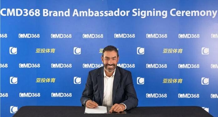 Bookmaker, CMD368 announces former player Robert Pires as new ambassador embaixador