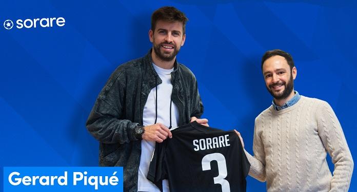 Gerard Pique investe em futebol de fantasia em parceria com plataforma Sorare